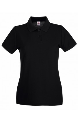 Поло женская Premium Polo White 2XL Lady-Fit