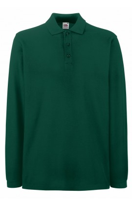 Поло мужская Premium Long Sleeve Polo