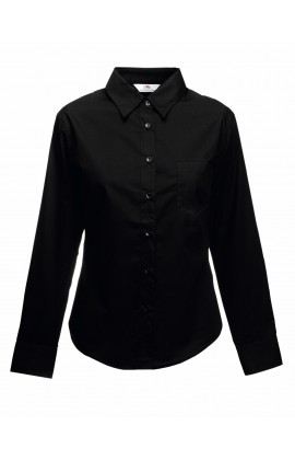 Рубашка женская Long Sleeve Poplin Shirt Lady-Fit
