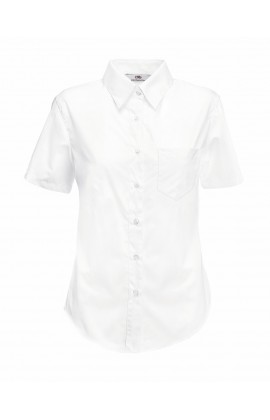 Рубашка женская Short Sleeve Poplin Shirt Lady-Fit